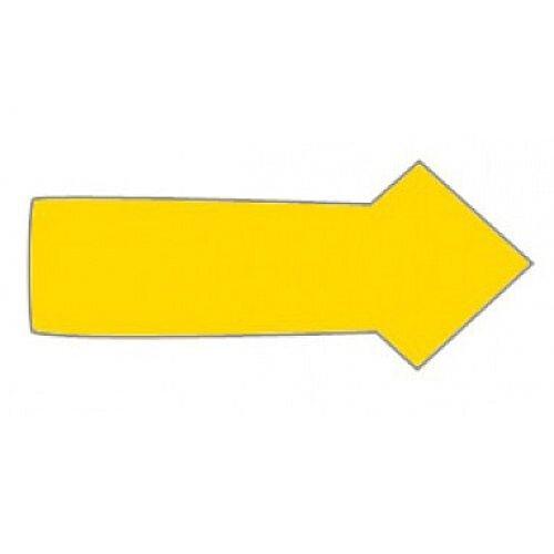 Franken Magnetic Yellow Arrow Symbols Pack of 30 M860 04