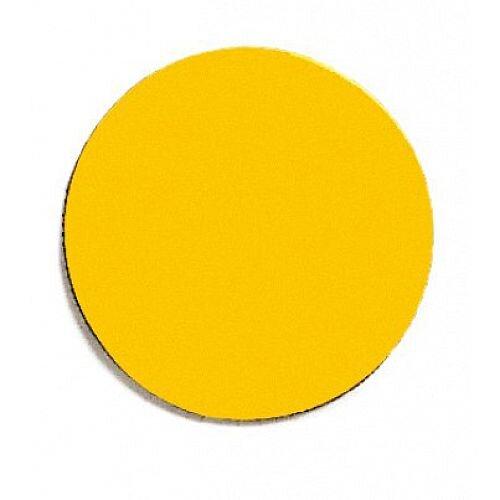Franken Magnetic Yellow Circle Symbols Pack of 50 M861 04