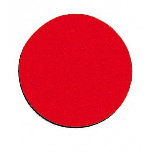 Franken Magnetic Red Circle Symbols Pack of 18 M862 01