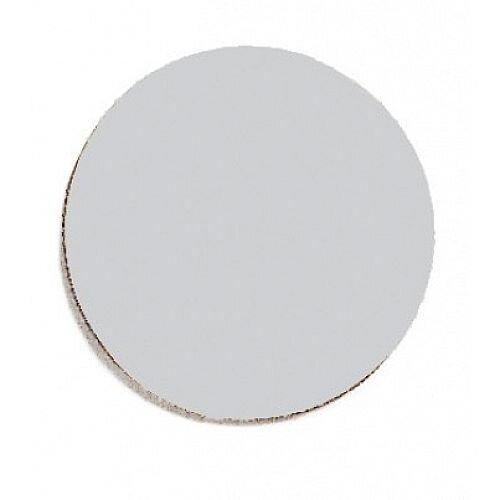 Franken Magnetic Grey Circle Symbols Pack of 18 M862 12