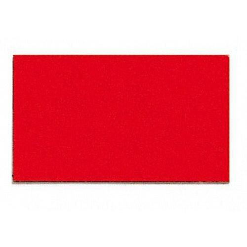 Franken Magnetic Red Rectangle Symbols Pack of 56 M863 01