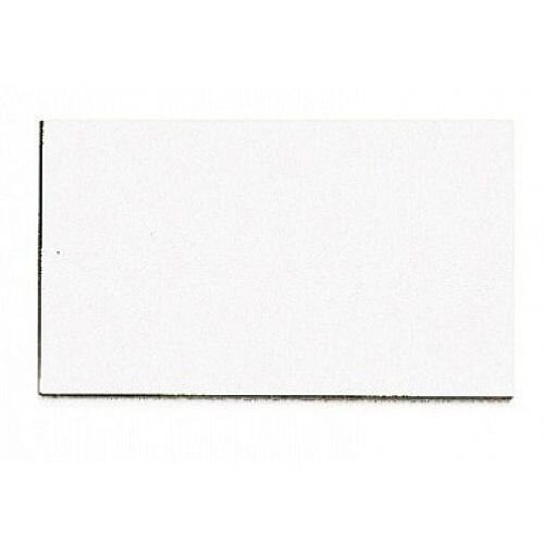 Franken Magnetic White Rectangle Symbols Pack of 56 M863 09