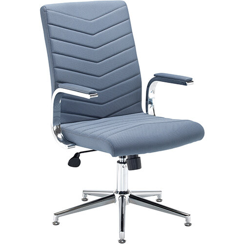 Martinez high back managers chair - grey fabric