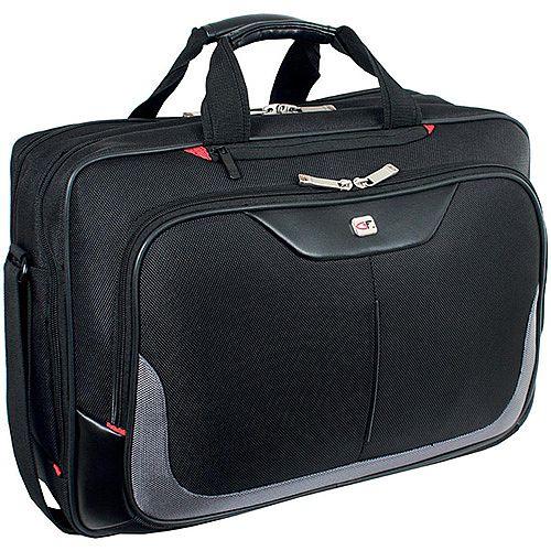 Gino Ferrari Enza Business Bag with Laptop Compartment Nylon Capacity 16inch Black Ref GF555