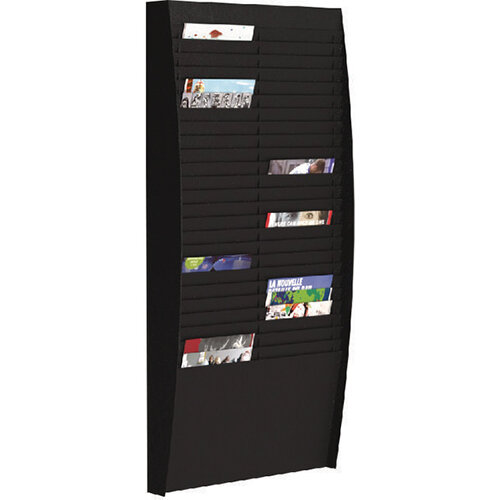 Fast Paper A4 Document Control Panel 50 Compartments Black V225.01