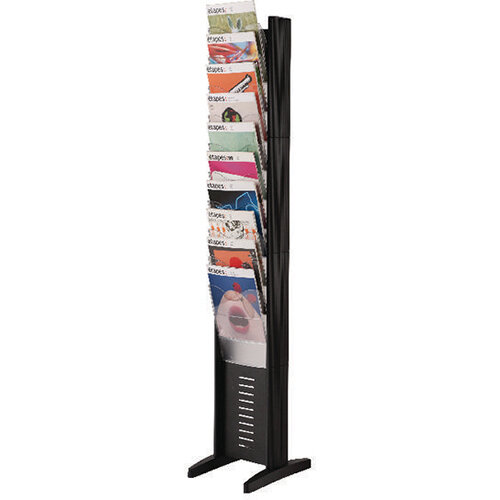 Fast Paper A4 10 Compartment Display Black 278.01