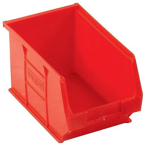 Barton TC3 Small Parts Storage Drawers Semi-Open Front Red 4.6 Litre 150x240x125mm Pack of 10 010032
