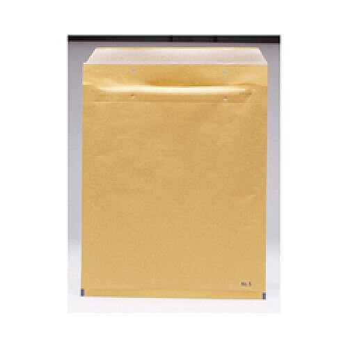 Go Secure Bubble Lined Envelopes Size 5 220 x 265mm Brown (Pack of 100) ML10050