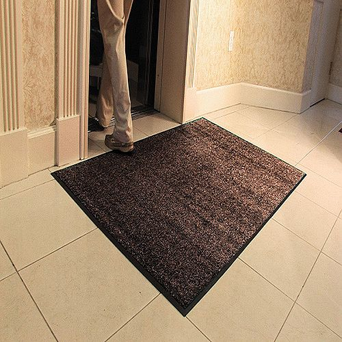 Millennium Mat Platinum Series Floor Mat 910 x 1520mm Brown 84030550