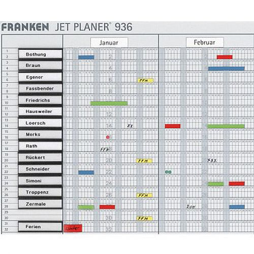 Franken Month Strips Magnetic January-December