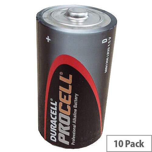 D 1.5v Duracell Procell Batteries