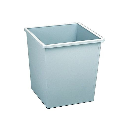 Avery 27 Litre Steel Bin Square Grey 631