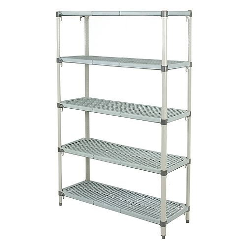 Metromax Q Adjustable Polymer Shelving System