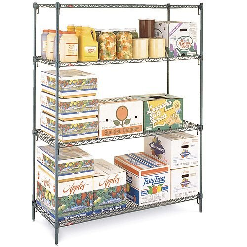 Metroseal III Adjustable Budget Wire Shelving System
