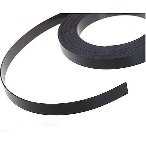 Nobo Black 10mm x 5m Magnetic Tape