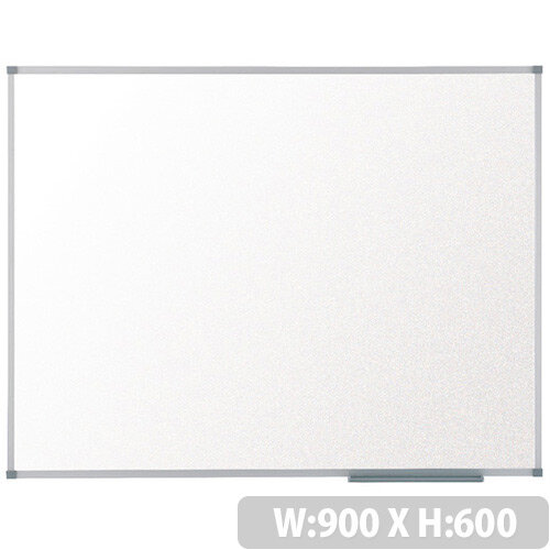 Nobo Basic Melamine Non-Magnetic Whiteboard 900 x 600mm 1905202