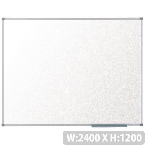 Nobo Basic Melamine Non-Magnetic Whiteboard 2400 x 1200mm 1905206