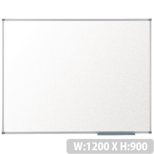 Nobo Prestige Enamel Magnetic Whiteboard 1200 x 900mm 1905221