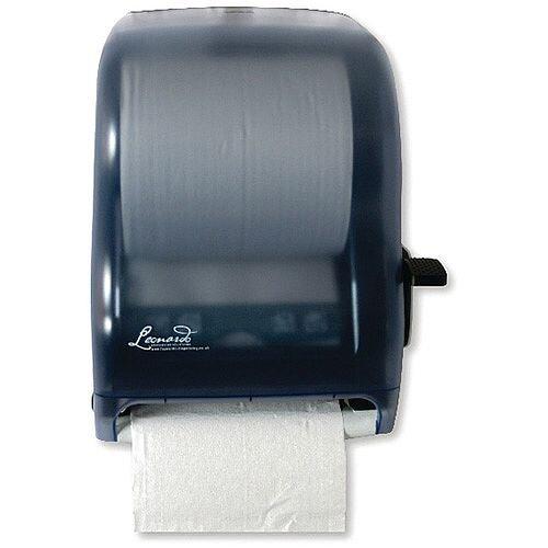 Leonardo Lever Control Blue Hand Towel Roll Dispenser DSRA12