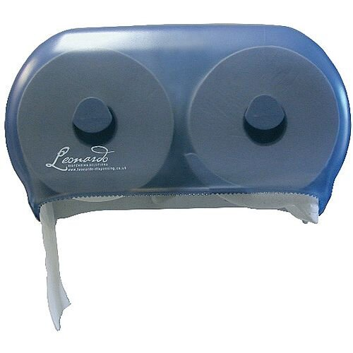 Leonardo Versatwin Toilet Roll Dispenser Blue DSTA06