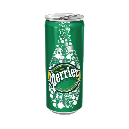 Perrier 250ml Sparkling Water Slim Can Pack of 35 12336215