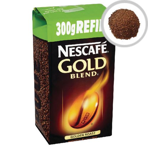 Nescafe Gold Blend Vending Machine Refill Instant Coffee Pack 300g Pack of 1 12162463
