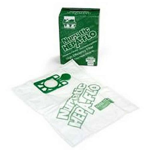 Numatic Replacement Hoover Bags Spare Hepa-Flo for Henry and Hetty Numatic Vacuum Cleaners Pack 10