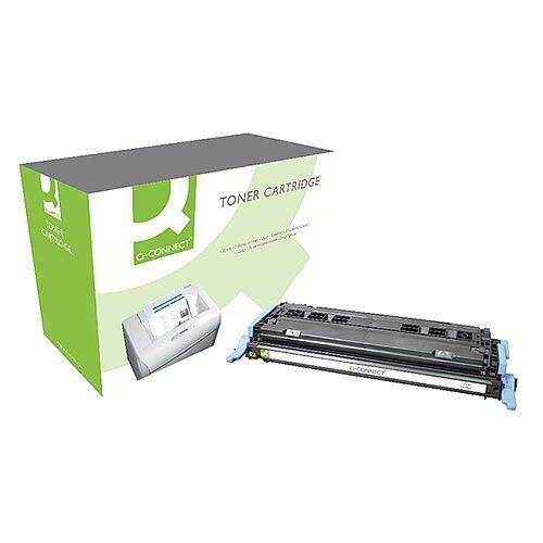 HP 124A Compatible Yellow LaserJet Toner Cartridge Q6002A Q-Connect