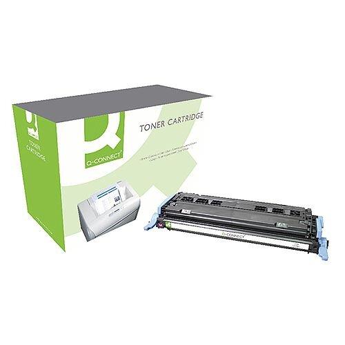 HP 124A Compatible Magenta LaserJet Toner Cartridge Q6003A Q-Connect