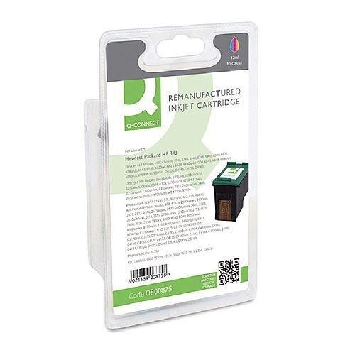 HP 343 Compatible 3-Colour Ink Cartridge C8766E Q-Connect