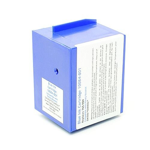 Q-Connect Pitney Bowes Remanufactured Blue Franking Ink Cartridge 765-9RN/765-95B/765-9BN