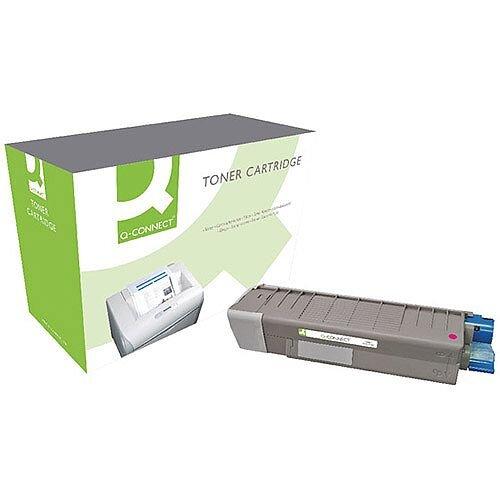 OKI 44315306 Compatible Magenta Toner Cartridge Q-Connect
