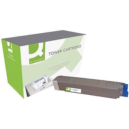 OKI 44059211 Compatible Cyan Toner Cartridge OB02440 Q-Connect