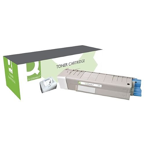 OKI 44469724 Compatible Cyan High Capacity Toner Cartridge Q-Connect