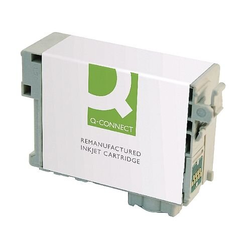 Epson 27XL Compatible Cyan Alarm Clock Inkjet Cartridge C13T271240 Q-Connect