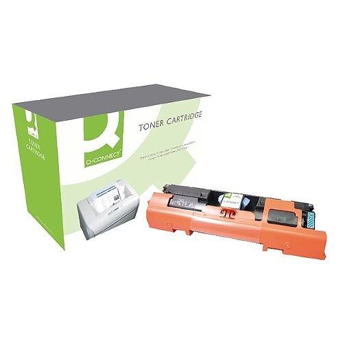 HP 122A Compatible Cyan Laser Toner Cartridge Q3961A Q-Connect