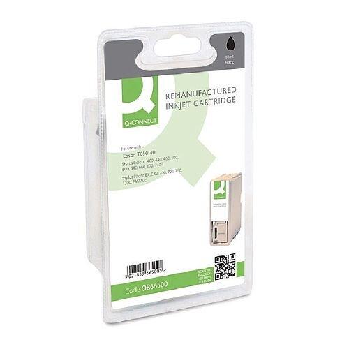 Epson T0501 Compatible Black Panda Series Ink Cartridge Q-Connect T050140