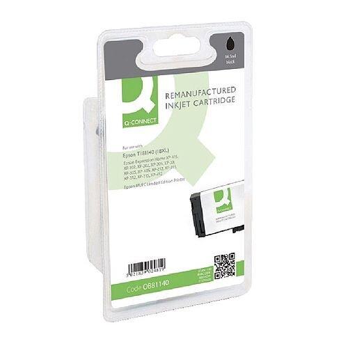 Epson 18XL Compatible Black High Capacity Daisy Series Inkjet Cartridge C13T18114010 / T181140 Q-Connect
