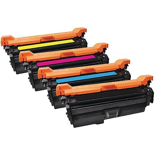 HP 648A Compatible 4-Colour Toner Cartridges Q-Connect CE262A