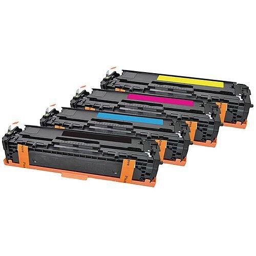 HP 131A Compatible 4-Colour Toner Cartridges Q-Connect U0SL1AM
