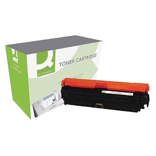 HP 650A Compatible Black Laser Toner Cartridge CE270A Q-Connect