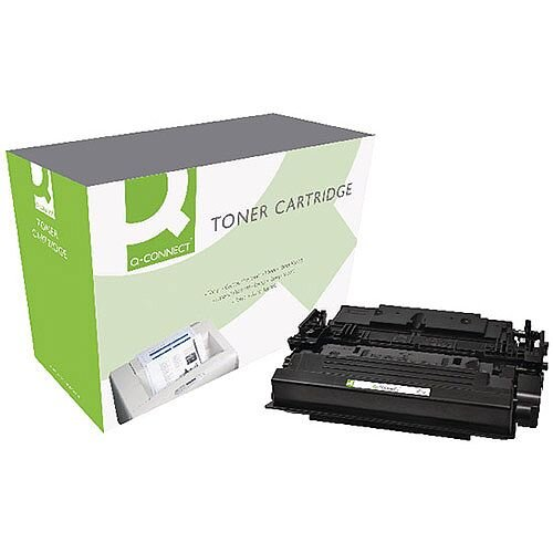 HP 87X Compatible Black High Yield Toner Cartridge Q-Connect CF287X