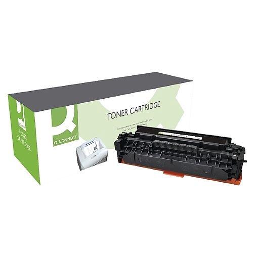 HP 312X Compatible Black High Capacity Toner Cartridge CF380X Q-Connect