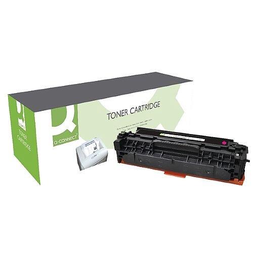 HP 312A Compatible Magenta Toner Cartridge CF383A Q-Connect