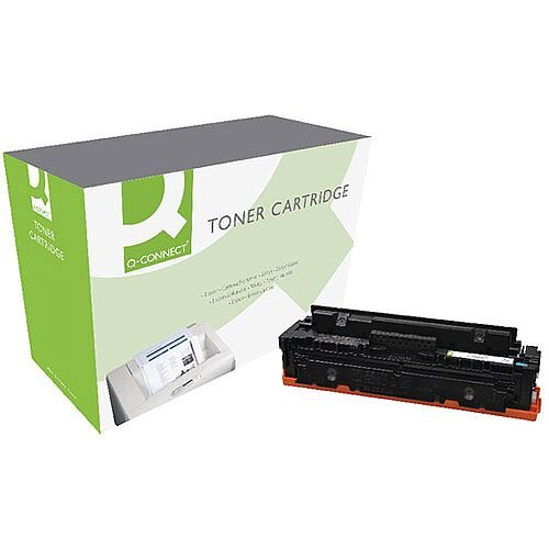 Q-Connect HP CF411X M452 Laser Toner Cartridge High Yield Cyan CF411X-COMP
