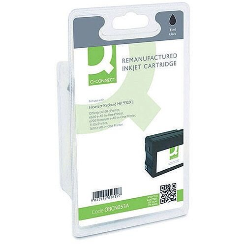 HP 932XL Compatible Black High Capacity Inkjet Cartridge CN053A Q-Connect