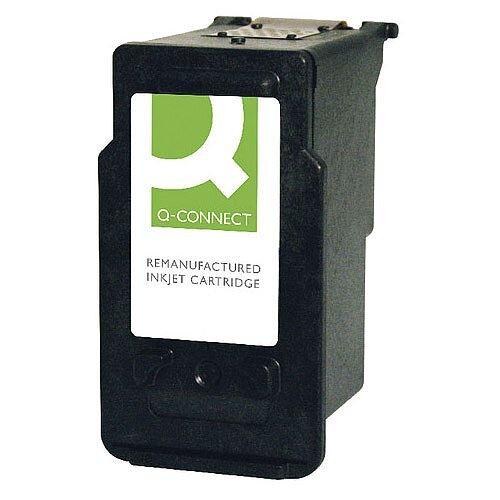 Q-Connect HP (F6U68AE-COMP) 302XL Black Ink Cartridge