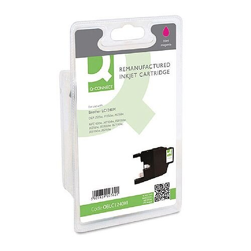 Brother LC1240 Compatible Magenta Inkjet Cartridge Q-Connect