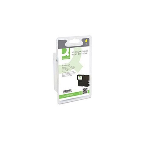 Brother LC-980Y Compatible High Yield Yellow Ink Cartridge Q-Connect