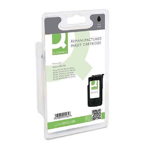 Canon PG-512 Compatible Black Ink Cartridge 2969B001 Q-Connect